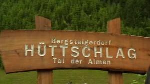 Bergsteigerdorf Hüttschlag, Fliegenfischen in der Großarler Ache in Österreich