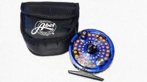 Abel TR 2 Sonderfarbe Solid Color Blau mit Schnur, Fliegenrolle zu verkaufen