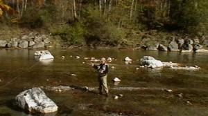 Bibelöd - Hans beim Fischen
