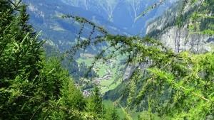 Anfahrt zur Hirschgruben Alm