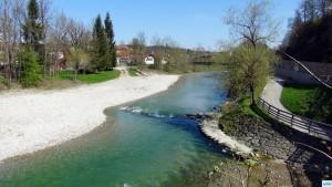 Deutsche Traun, Stadtstrecke von Rudi Heger